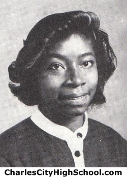 Shelly Parker yearbook picture