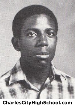 Eugene Sneed yearbook picture
