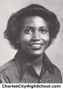 Cynthia Tabb yearbook picture