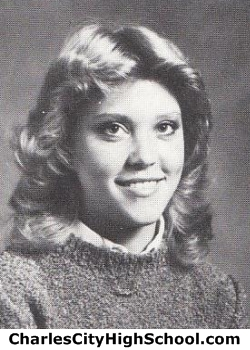 Robin Tench yearbook picture