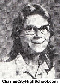 Donna Waltrip yearbook picture