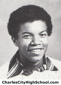 Maurice Washington yearbook picture