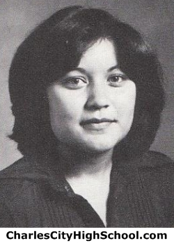 Darla Whitehead yearbook picture