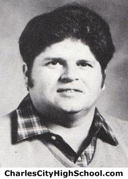 David Brown yearbook picture