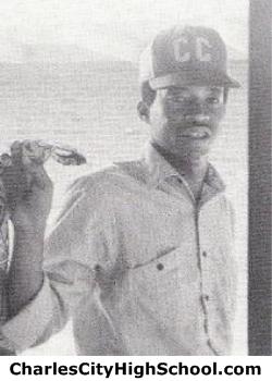 Frank Garner yearbook picture