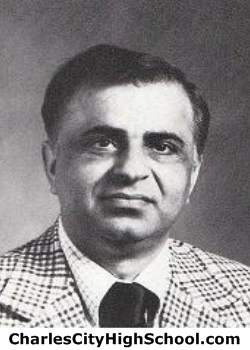 Mazhar Haq yearbook picture