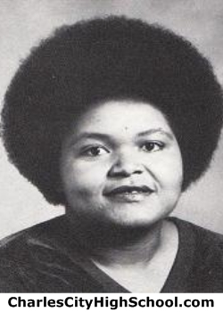 Carol Wilson yearbook picture