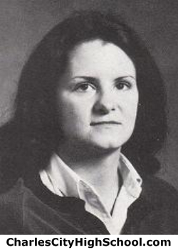 Gayla Wright yearbook picture