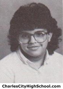 Camille Adkins yearbook picture