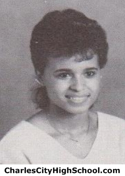 Holly Adkins yearbook picture