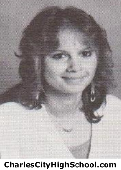 Sally Adkins yearbook picture