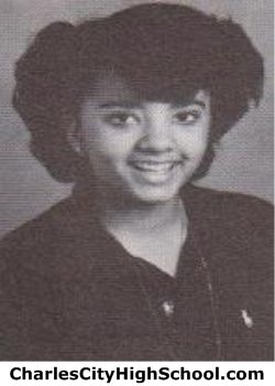 Trina Adkins yearbook picture
