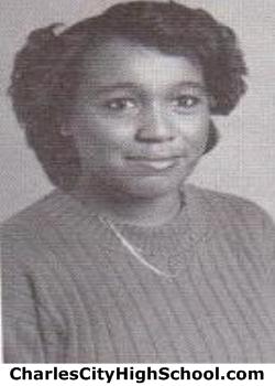 Jenene Barnes yearbook picture