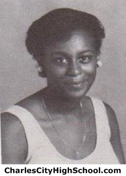 Janice Brown yearbook picture