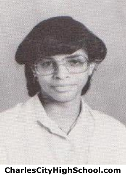 Mia Charity yearbook picture