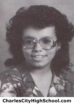 Julie Christian yearbook picture