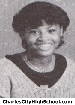 Sabrina Coles yearbook picture