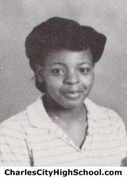 Monica Harris yearbook picture
