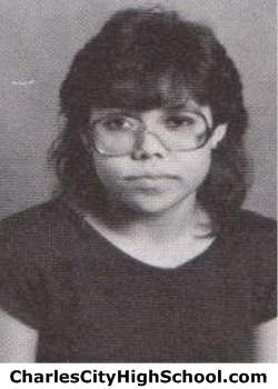 Sandy Holmes yearbook picture