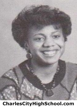 Lasonia Johnson yearbook picture