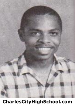 Joseph Lewis yearbook picture