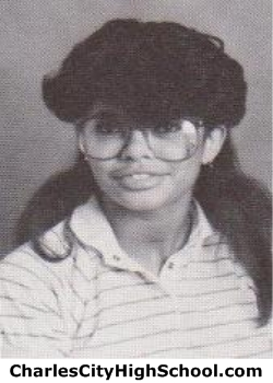 Sharon Percy yearbook picture