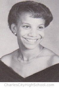 Wilhemina Anderton yearbook picture