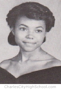 Carol Baker yearbook picture