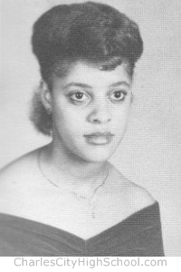 Denise Christian yearbook picture