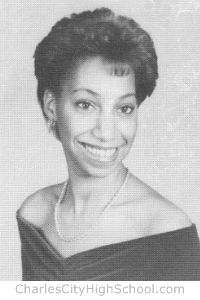 Glenda Hamilton yearbook picture