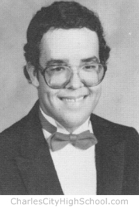 Scott Holmes yearbook picture