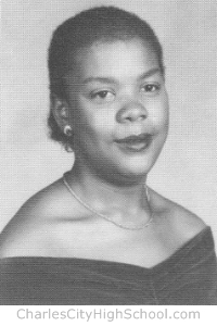 Coretta Jefferson yearbook picture