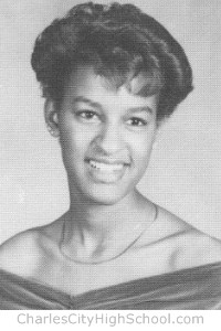 Tracie Lewis yearbook picture