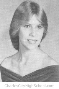 Denise Overman yearbook picture