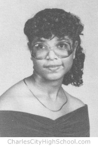 Frances Tabb yearbook picture