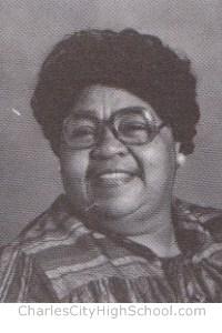 Bernice Greene Yearbook Picture