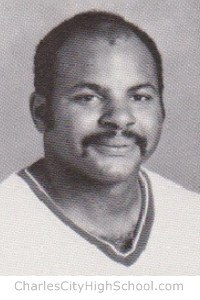 Joseph McCray yearbook picture