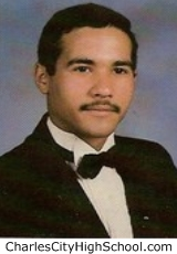 Alton Adkins yearbook picture
