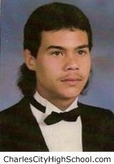 Derek Adkins yearbook picture
