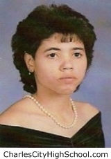 Jeannine Adkins yearbook picture