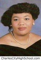 Carolyn Binford yearbook picture