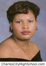 Wanda Bradby yearbook picture