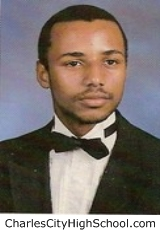 Marvin Brown yearbook picture