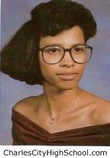 Sherri Charity yearbook picture