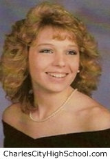 Melissa Cooke yearbook picture