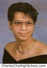 Tamara Cotman yearbook picture
