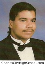 Keith Johnson yearbook picture
