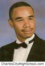 Reginald Jones yearbook picture