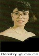 Vaundra Jones yearbook picture