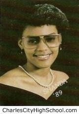 Shanda Paige yearbook picture